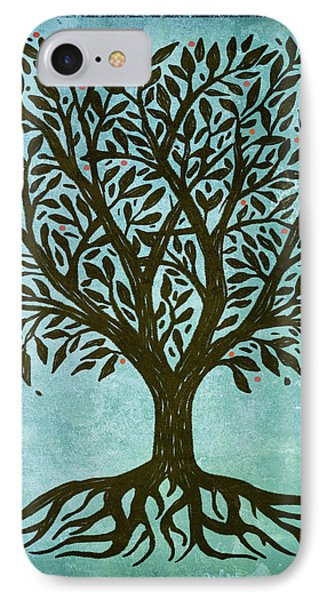 Tree Of Life IPhone Case by Little Bunny Sunshine