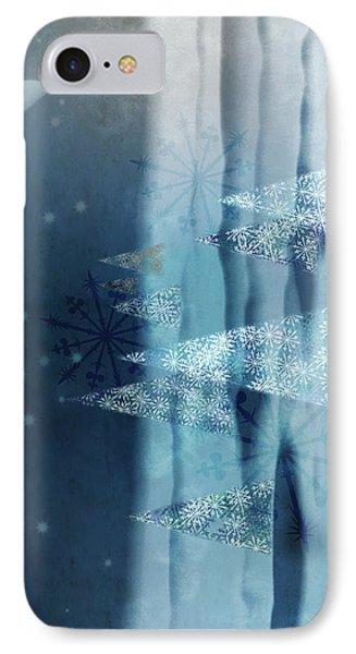 Winter Night IPhone Case by AugenWerk Susann Serfezi