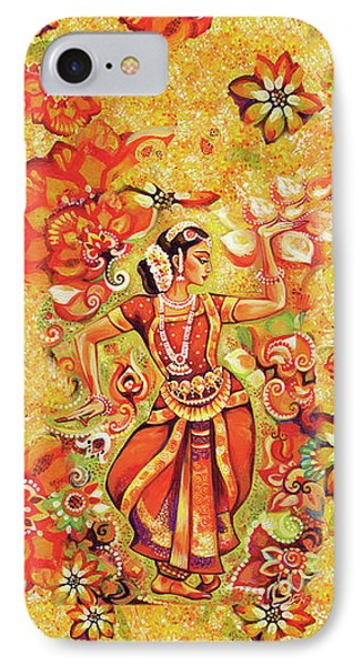 Ganges Flower IPhone 7 Case by Eva Campbell