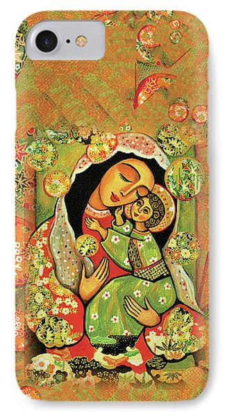 Madonna And Child IPhone 7 Case by Eva Campbell
