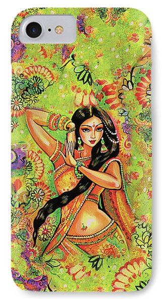 Dancing Nithya IPhone 7 Case by Eva Campbell