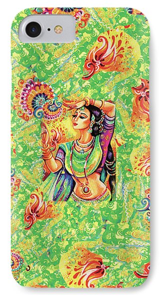 IPhone 7 Case featuring the painting The Dance Of Tara by Eva Campbell