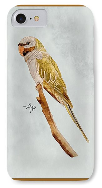 Derbyan Parakeet IPhone Case by Angeles M Pomata