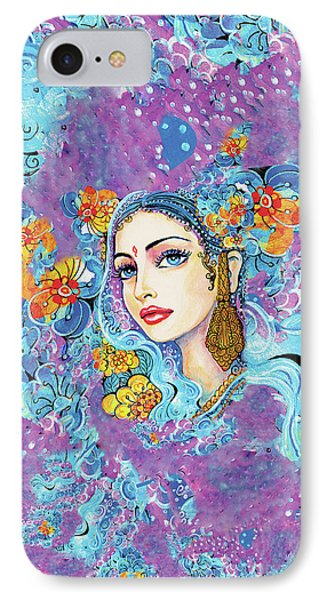 IPhone 7 Case featuring the painting The Veil Of Aish by Eva Campbell