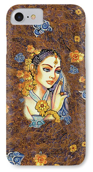 IPhone 7 Case featuring the painting Amari by Eva Campbell