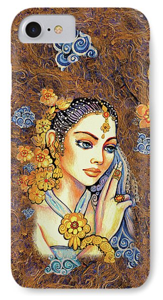 IPhone Case featuring the painting Amari by Eva Campbell