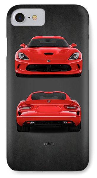 Viper IPhone 7 Case by Mark Rogan