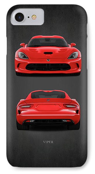 Viper IPhone Case by Mark Rogan
