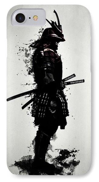 Armored Samurai IPhone Case by Nicklas Gustafsson