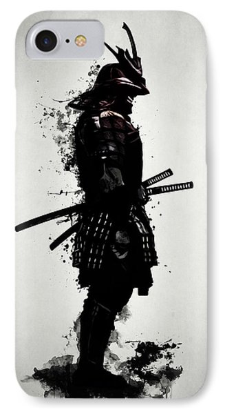 Armored Samurai IPhone Case by Nicklas Gustafsson
