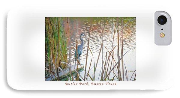 Birds And Fun At Butler Park Austin - Birds 4 Poster Greeting Card Phone Case by Felipe Adan Lerma