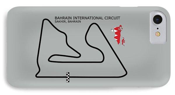The Bahrain International Circuit IPhone Case