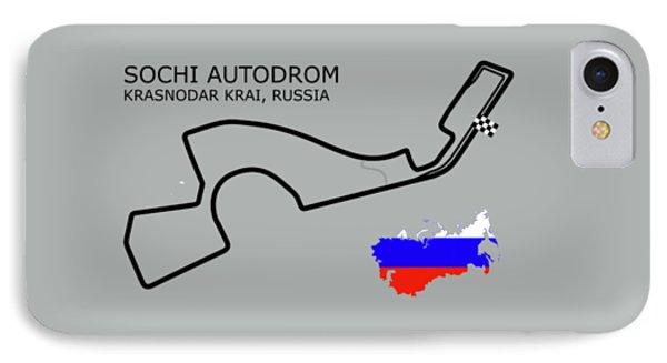 The Sochi Autodrom IPhone Case
