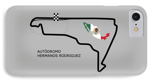Autodromo Hermanos Rodriguez IPhone Case