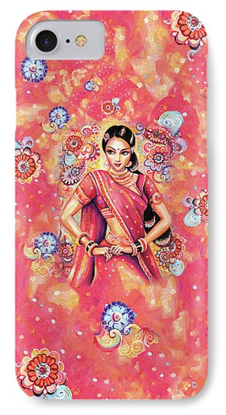 IPhone 7 Case featuring the painting Devika Dance by Eva Campbell