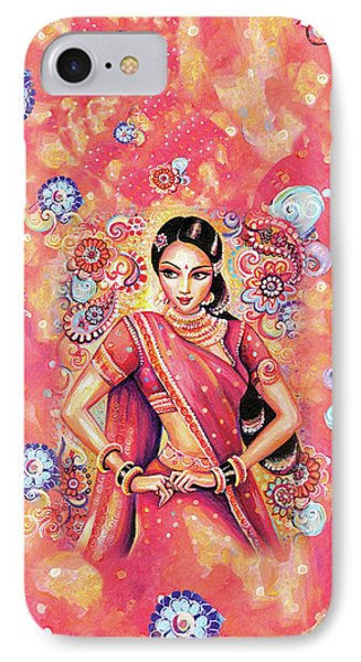 IPhone Case featuring the painting Devika Dance by Eva Campbell