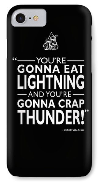 Gonna Eat Lightning IPhone Case by Mark Rogan