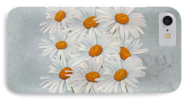 Bouquet Of White Daisies IPhone Case
