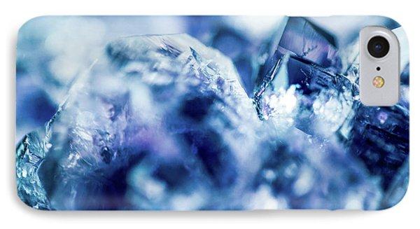 Amethyst Blue IPhone Case by Sharon Mau