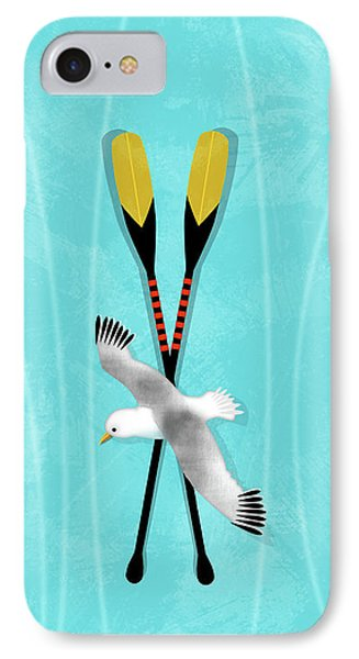 K Is For Kayak And Kittiwake IPhone Case
