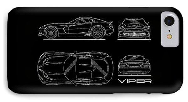 Viper Blueprint IPhone 7 Case