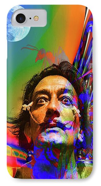 Dream Of Salvador Dali Phone Case by Matthew Lacey