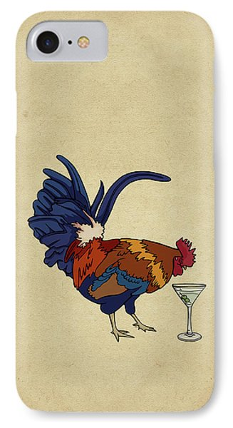 Cocktails IPhone Case by Meg Shearer