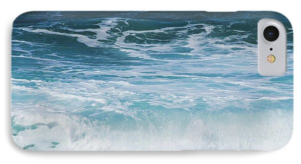 Ocean Waves From The Depths Of The Stars IPhone Case by Sharon Mau