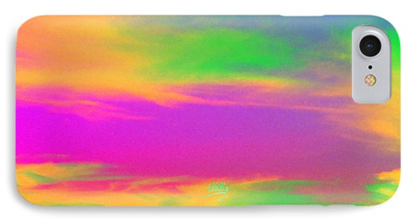 Painted Sky - Abstract IPhone Case by Linda Hollis