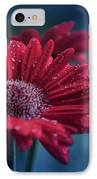 Gerbera Red Jewel IPhone Case