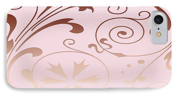 Rose Quartz Gold Komingo IPhone Case
