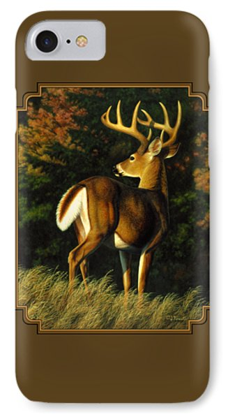 Whitetail Buck - Indecision IPhone Case