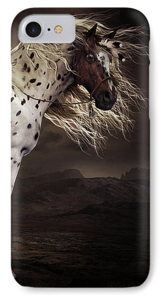 Horse iPhone 7 Case - Leopard Appalossa by Shanina Conway
