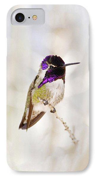 Hummingbird Phone Case by Rebecca Margraf