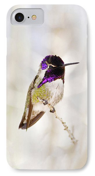 Hummingbird IPhone Case by Rebecca Margraf