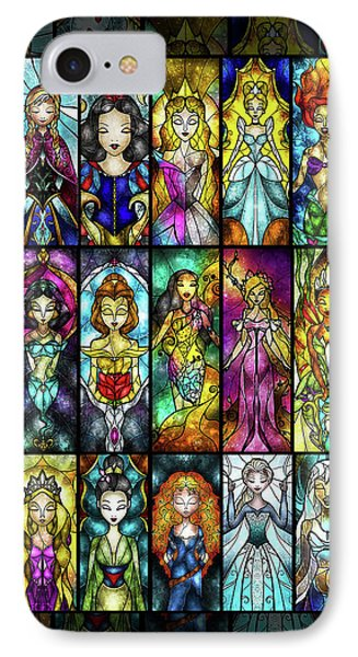 The Princesses IPhone Case by Mandie Manzano