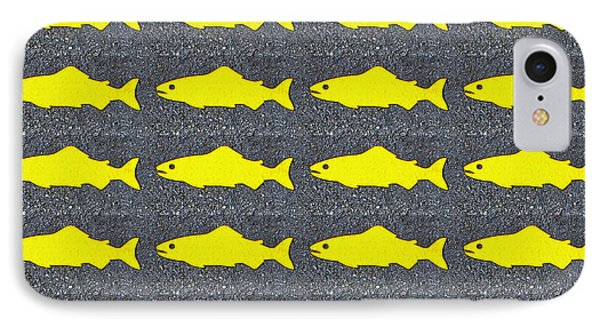IPhone Case featuring the photograph Yellow Fish by Ethna Gillespie