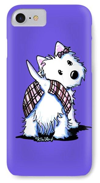 Dressed To Kilt Westie IPhone Case