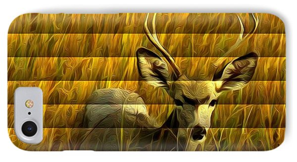 The Buck Poses Here IPhone Case by Bill Kesler