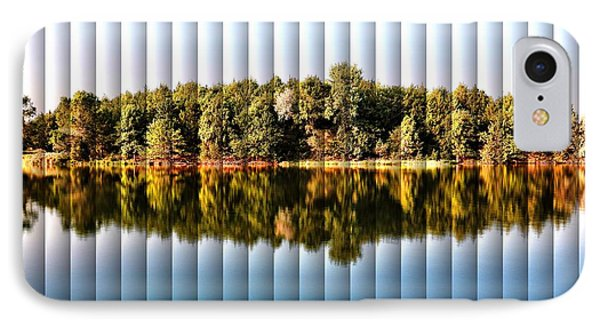When Nature Reflects - The Slat Collection IPhone Case by Bill Kesler