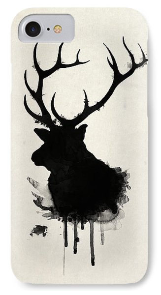 Elk IPhone 7 Case by Nicklas Gustafsson
