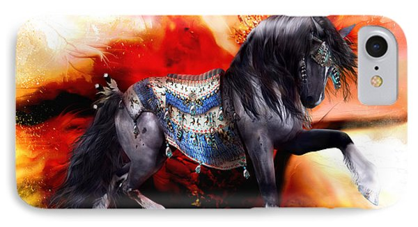 Kachina Hopi Spirit Horse  IPhone Case by Shanina Conway