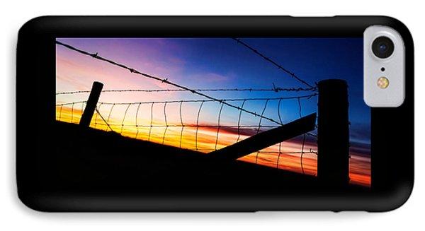 Hilltop Sunset IPhone Case