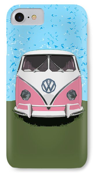 The Pink Love Bus IPhone Case