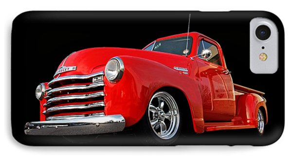 1952 Chevrolet Truck At The Diner IPhone Case by Gill Billington