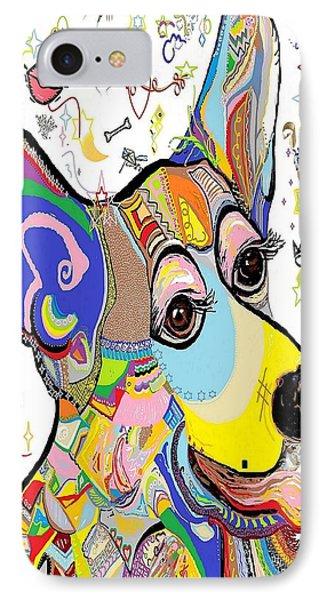 Corgi Cutie Phone Case by Eloise Schneider