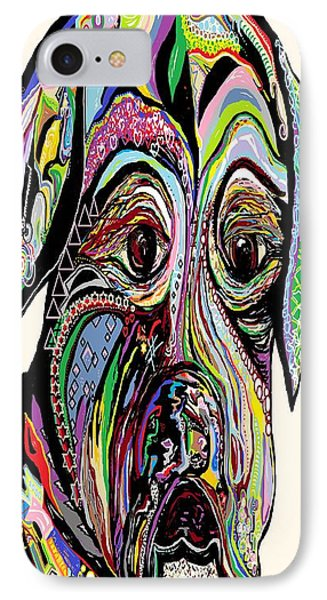 Colorful Boxer Phone Case by Eloise Schneider