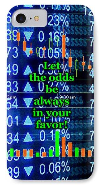 Stock Exchange Phone Case by Anastasiya Malakhova
