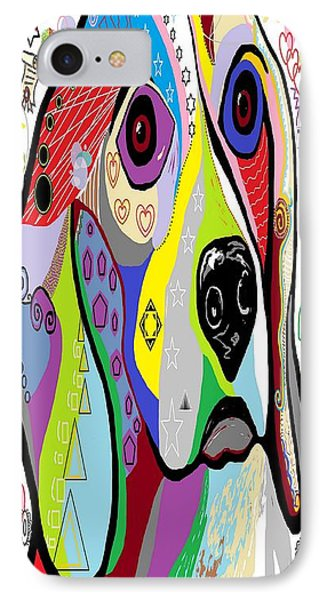 Beagle Phone Case by Eloise Schneider