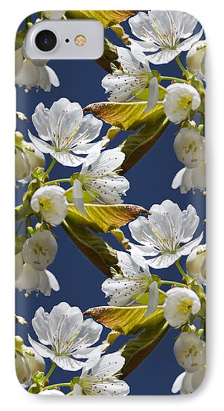 Cherry Blossoms Phone Case by Christina Rollo